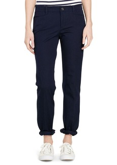Ralph Lauren Stretch Cotton Straight Pant