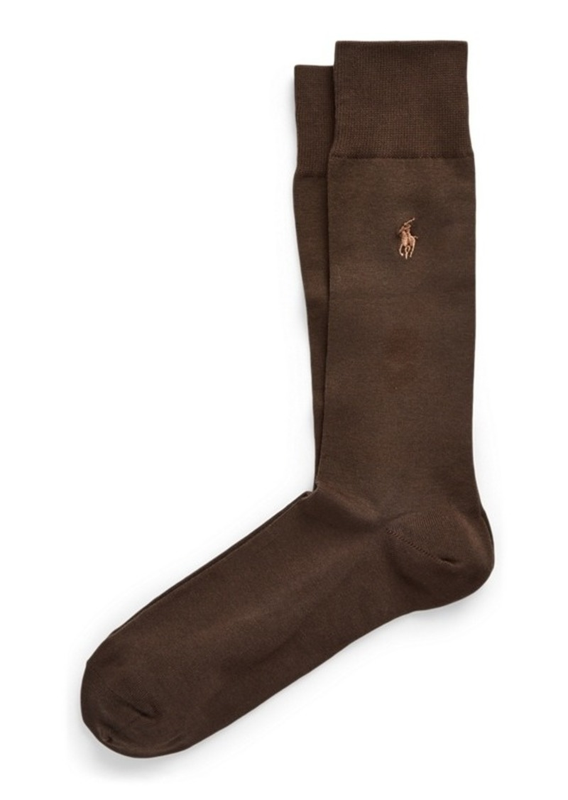 Ralph Lauren Stretch-Cotton Trouser Socks