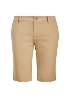 Stretch Cotton Twill Short