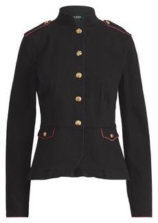 Ralph Lauren Stretch Denim Officer's Jacket