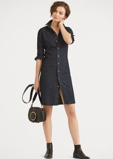 Ralph Lauren Stretch Denim Shirtdress