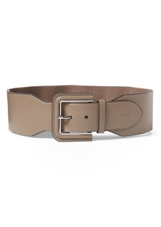 Ralph Lauren Stretch Faux-Leather Belt