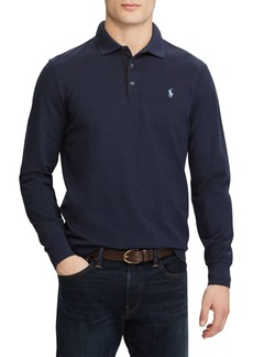 Ralph Lauren Stretch Long-Sleeve Mesh Polo