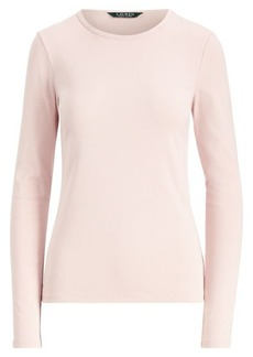 Ralph Lauren Stretch Long-Sleeve T-Shirt