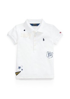 Ralph Lauren Stretch Mesh Graphic Polo