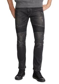 Ralph Lauren Stretch Slim Moto Jeans