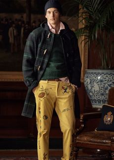 Ralph Lauren Stretch Straight Corduroy Pant