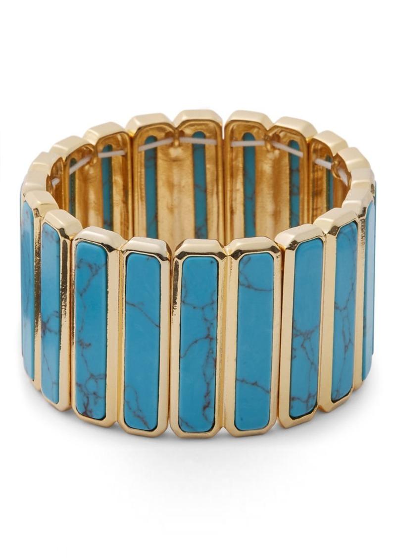 Ralph Lauren Stretch Turquoise Bracelet