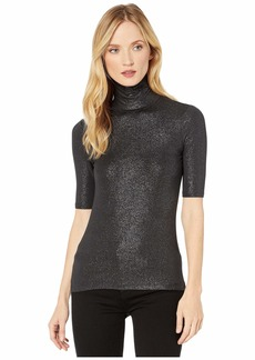 Ralph Lauren Stretch Turtleneck Top