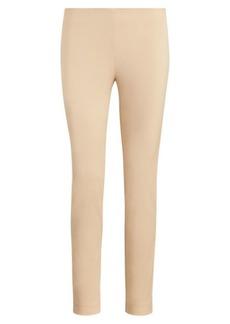 Ralph Lauren Stretch Twill Skinny Crop Pant