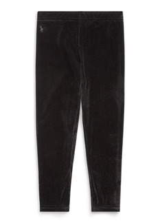 Ralph Lauren Stretch Velvet Legging