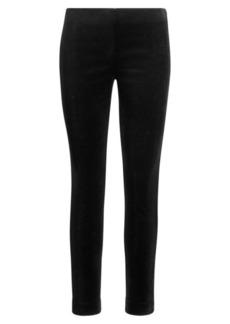 Ralph Lauren Stretch Velvet Skinny Pant