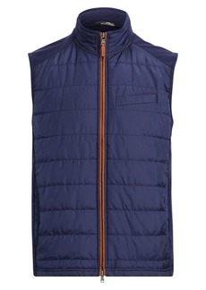 Ralph Lauren Stretch Wool Hybrid Vest