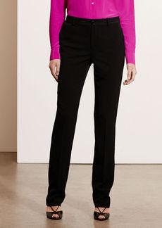 Ralph Lauren Stretch Wool Straight Pant
