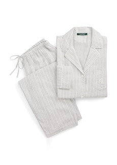 Ralph Lauren Stripe Sateen Sleep Set