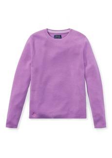 Ralph Lauren Striped Back Wool Sweater