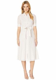 Ralph Lauren Striped Belted Shirtdress