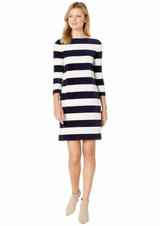 Ralph Lauren Striped Boat Neck Dress