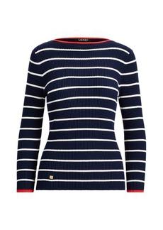 Ralph Lauren Striped Boatneck Sweater