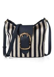 Ralph Lauren Striped Bucket Bag
