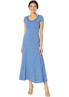 Ralph Lauren Striped Cotton-Blend Maxi Dress