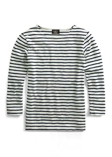 Ralph Lauren Striped Cotton Boatneck Shirt