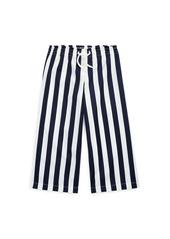 Ralph Lauren Striped Cotton Dobby Pant
