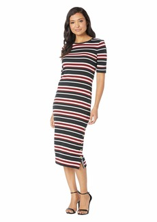 Ralph Lauren Striped Cotton Midi Dress
