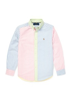 Ralph Lauren Striped Cotton Fun Shirt