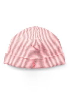 Ralph Lauren Striped Cotton Hat