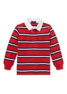 Ralph Lauren Striped Cotton Jersey Rugby