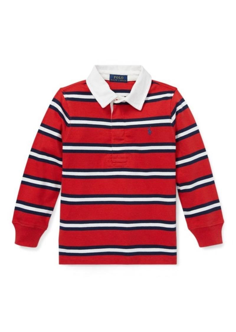 11b165c9554 Ralph Lauren Striped Cotton Jersey Rugby
