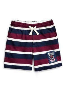 Ralph Lauren Striped Cotton Mesh Short