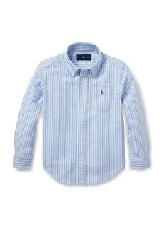 Ralph Lauren Striped Cotton Oxford Shirt