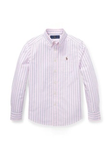 Ralph Lauren Striped Cotton Oxford Shirt