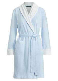 Ralph Lauren Striped Cotton Robe