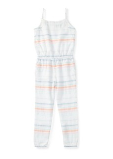 Ralph Lauren Striped Cotton Romper