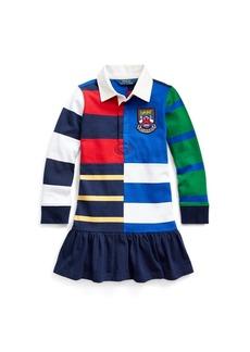 Ralph Lauren Striped Cotton Rugby Dress