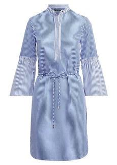 Ralph Lauren Striped Cotton Shirtdress