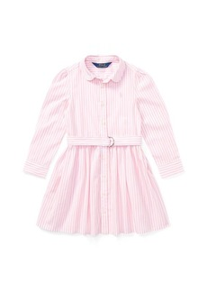 Ralph Lauren Striped Cotton Shirtdress