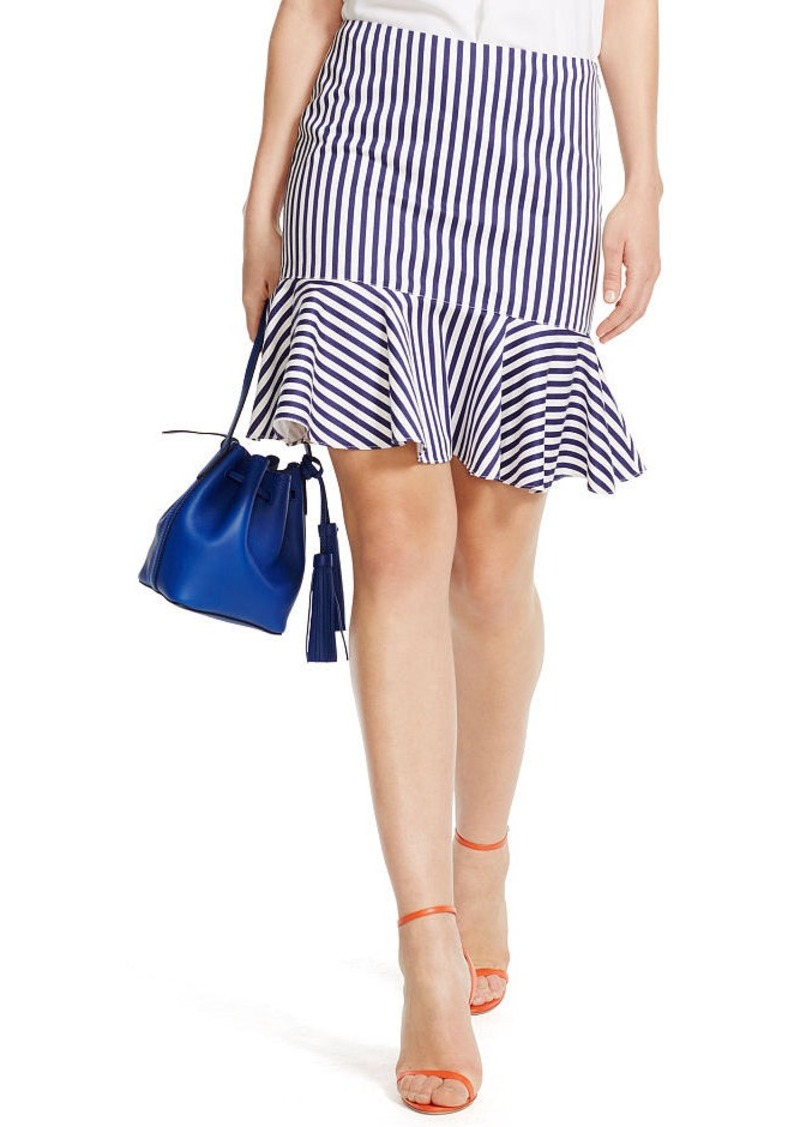 Ralph Lauren Striped Cotton Skirt
