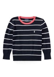 Ralph Lauren Striped Cotton Sweater