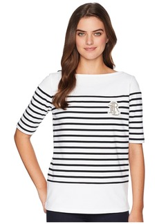 Ralph Lauren Striped Cotton T-Shirt