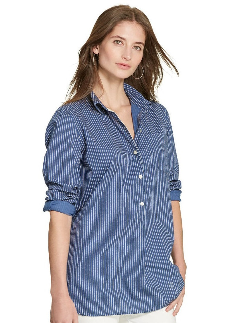 Ralph Lauren Striped Cotton Tunic