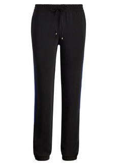 Ralph Lauren Striped Crepe Track Pant