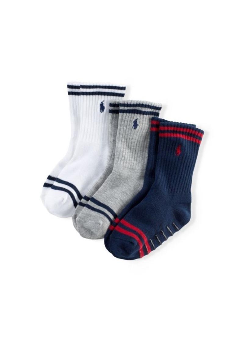 bbbbbabebd Striped Crew Sock 3-Pack