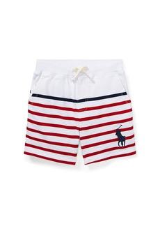 Ralph Lauren Striped Drawstring Cotton Shorts