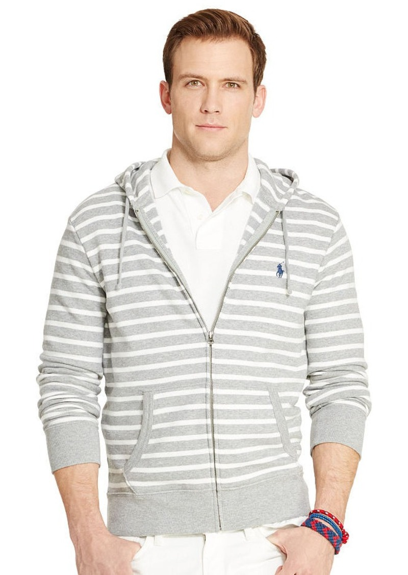 Ralph Lauren Striped French Terry Hoodie