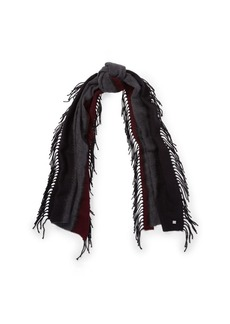 Ralph Lauren Striped Fringe Scarf