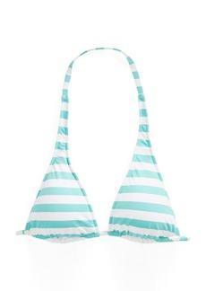 Ralph Lauren Striped Halter Bikini Top
